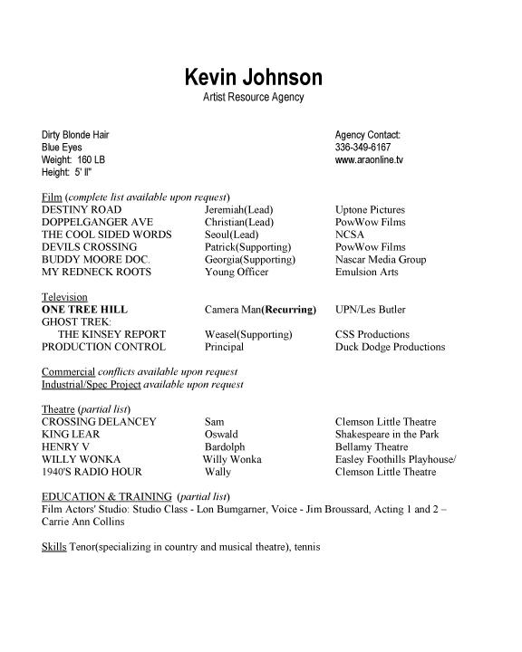 Elegant Johnson, Kevin (Resume)